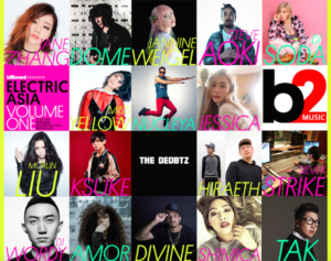 Electric Asia artists